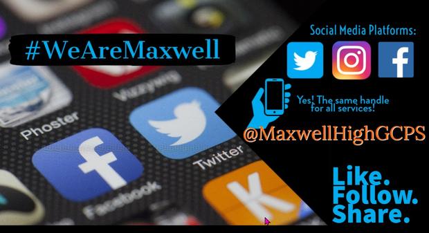 Maxwell High School social media tags