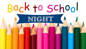SV Back To School Night Thursday 9/5/19 & Minimum Day