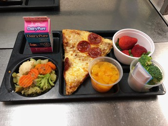 Cafeterias now offering more FRESH Fruit & Veggies!