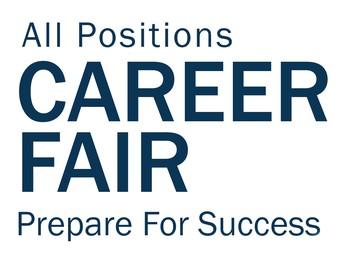 All Positions Career Fair on March 7