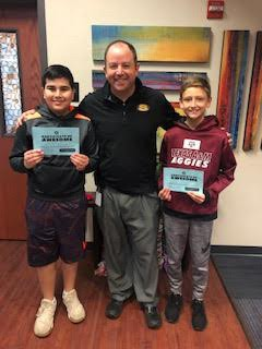 Winners of positive office referrals