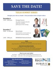 Texas Summit Series with George Couros and Kevin Kush set for November