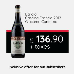 Barolo Cascina Francia 2012 | Giacomo Conterno