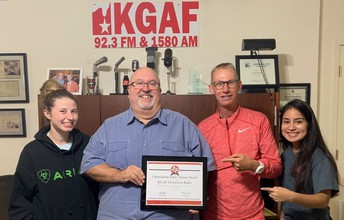 KGAF features Gainesville FFA!