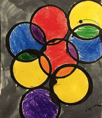 "Kindergarten ""Color Mixing Bubbles"""