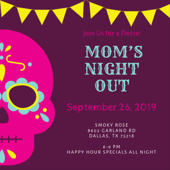 Mom's Night Out - Tuesday, September 24th