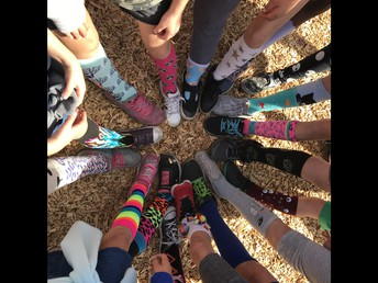 Crazy Socks Day!