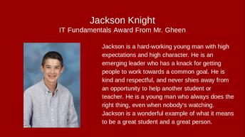 Jackson Knight