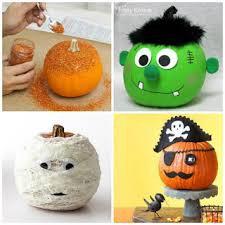 No Carve Pumpkin Storybook Character