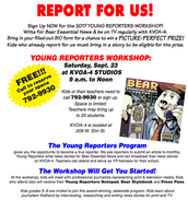 Young Reporter's Workshop