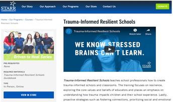 Trauma-Informed Resilient Schools