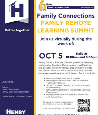 Family Connections Remote Learning Summit