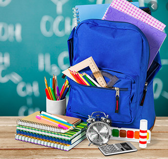 Student supplies still available for pick up