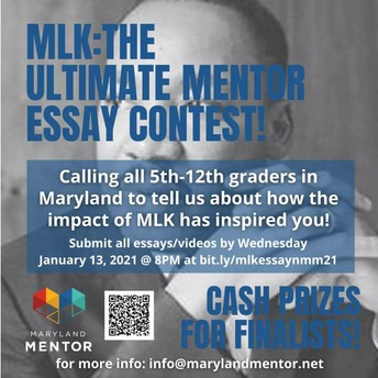 MLK:  The Ultimate Mentor Essay Contest