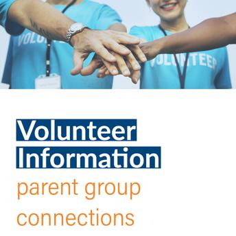 Parent Orgs & Volunteering