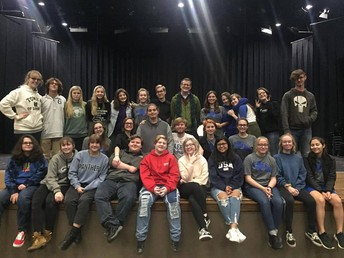 Arkansas Playwright Visits GHS