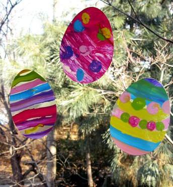 Window Easter Egg Hunt