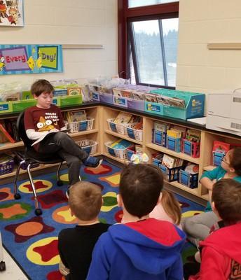 "A 3rd grade student chose ""Reading Buddies"" as his Cat Cash reward."