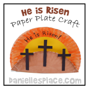 At home Easter Craft & Games Resources