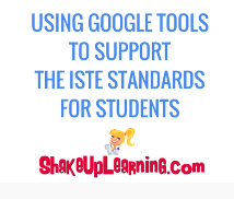 Using Google Tools to Support ADW/ISTE Standards