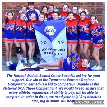 Cheer asks for help!