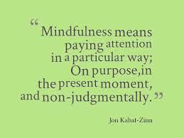 Define Mindfulness