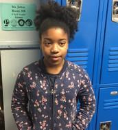 Olivia Smith- MYP Year 1, 6th grade