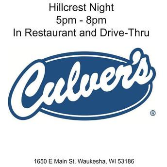 PTO Culver's Night