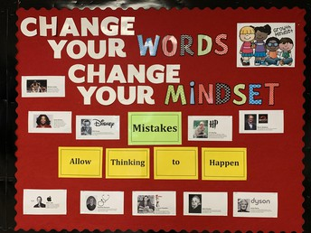March Growth Mindset--Mistakes Are Opportunities for Learning