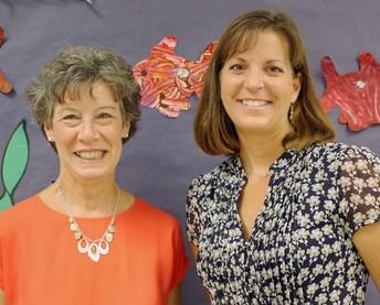Mrs. Karen Fleishman, Pre-k Instructional Assistant and Mrs. Misti Wheelbarger, Pre-k Teacher