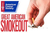 November 16: Great American Smoke-Out