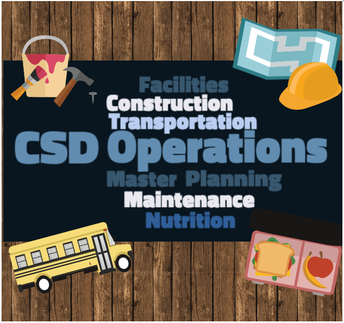 Operations Department - Facilities, Maintenance, Nutrition, and Transportation