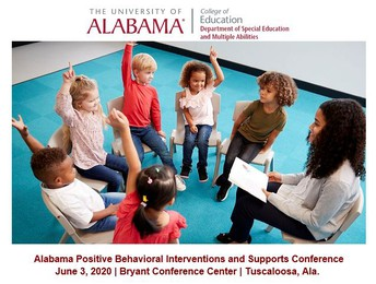 Save the Date: Alabama PBIS Conference on June 3, 2020!