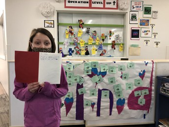 Spotlight on author Zoey H. in Mrs. Cusic's class!