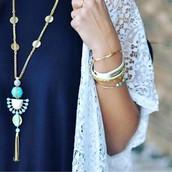 Totem Tassle Necklace