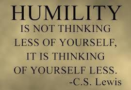 May Lifeskill- Humility