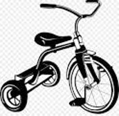 OUTGROWN TRICYCLES & BICYCLES