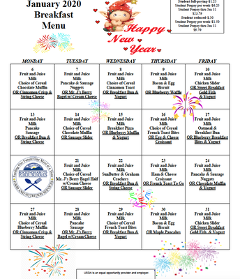 EES Breakfast Menu-January