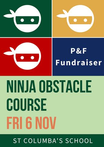 P&F Ninja Warrior Fundraiser