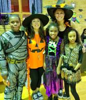 Ms. Egan & Ms. Carmody with a few amazing grade 4 students!