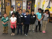 3rd Grade Spelling Bee Contestants