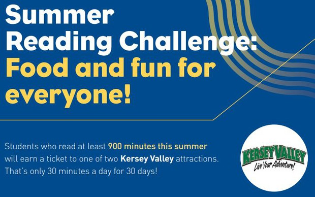 GCS Reads 30 Summer Reading Challenge