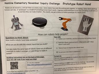 March Inquiry Challenge