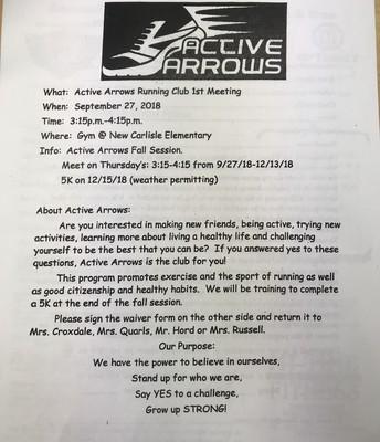 Active Arrows