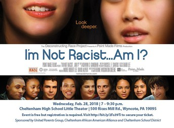 "UPG, CAAA Sponsor ""I'm Not Racist...Am I?"""