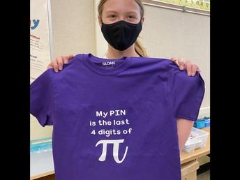 Grade 6 PI Day Challenge Winner