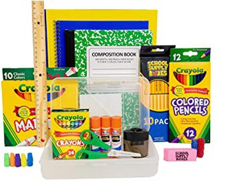 School Supplies and Yearbook Distribution
