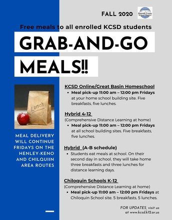 Grab-and-Go Meals!