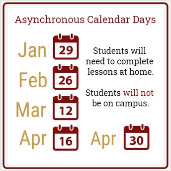 Asynchronous Calendar Days
