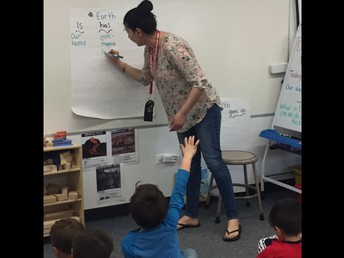 Students Learn About The Earth!